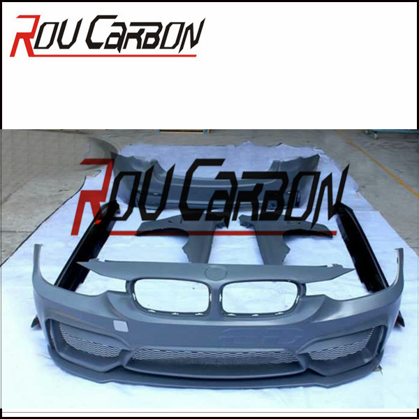 PP Material M4 Bodykit For BMW F30 F35 3 Series 13-15