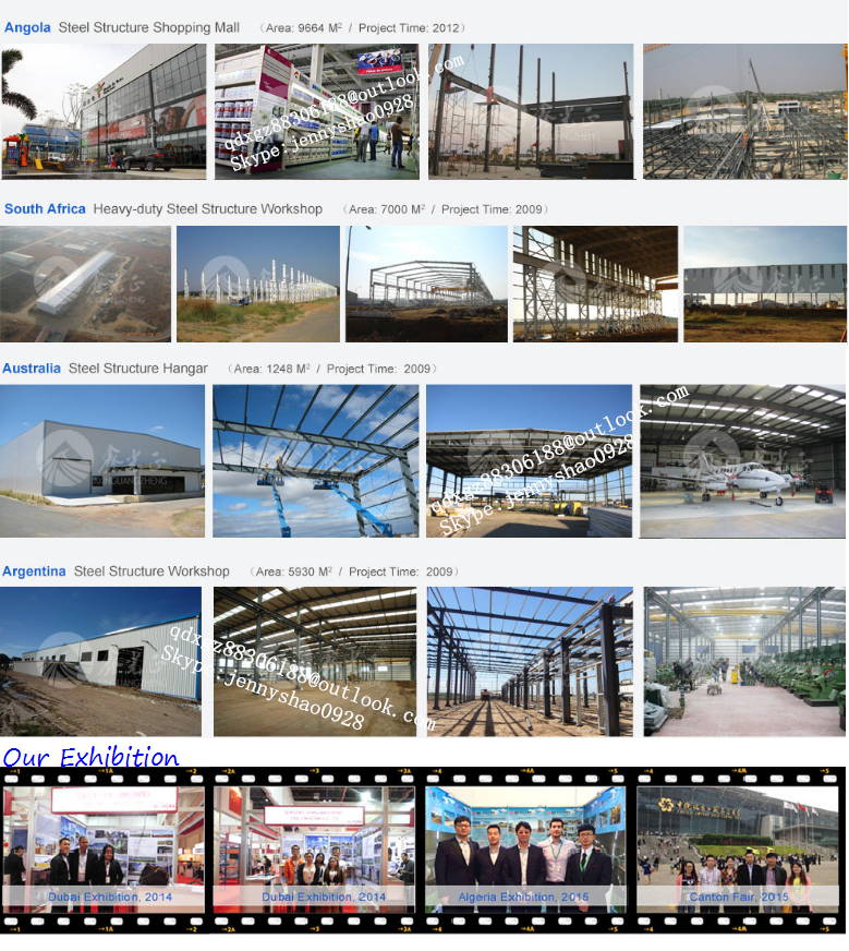 Prefabricated high rise steel structure agricultural building