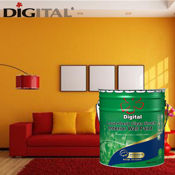 Super Scrub Resistance Washable Interior Wall Paint Prices