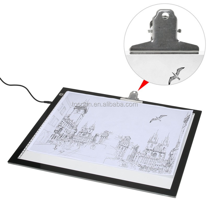 Led Lighting Dimmable Slim Tracing Drawing Copy Board Buy New Backlit Drawing Board Color