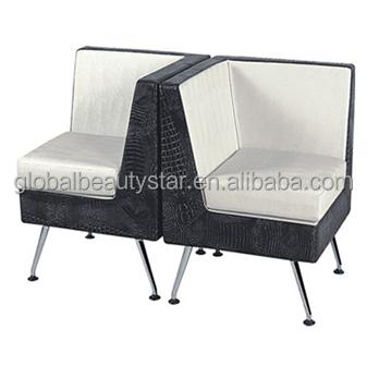 Beautystar Hair Salon Furniture Barber Double Seat Waiting Chairs - Waiting chairs for salon