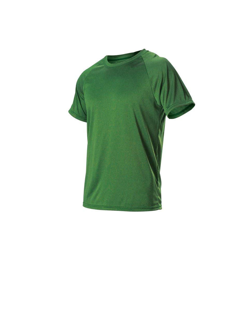 Alleson Ahtletic Unisex-Teen Youth Heather Tech Short Sleeve Tshirt