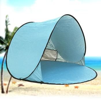 2 3 Person Pop Up Beach Tent Sun Shelter Shade Shack Instant