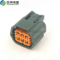 6189-0766/6189-1102 power window switch 6 pin female auto connector