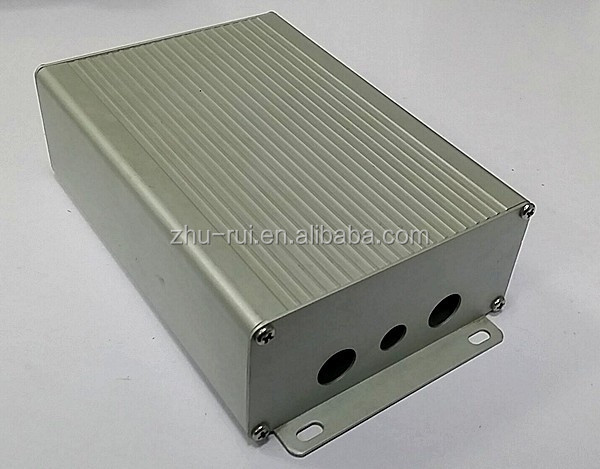 cheap anodizing Aluminum Extrusion Enclosure for Electronic /Aluminum Profile LED Driver Box