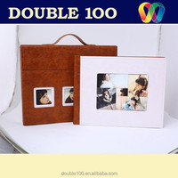hot sales digital leather photobook album covers and case China professional manufacturer