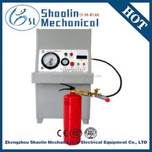 High accuracy fire extinguisher dry powder injection filling machine with low consumption
