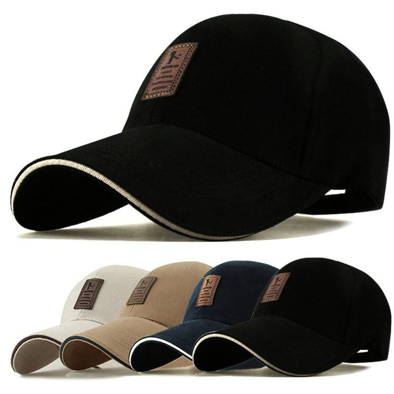 1Piece Baseball Cap Men's Adjustable Cap Casual leisure <strong>hats</strong> Solid Color Fashion Snapback Summer Fall <strong>hat</strong>