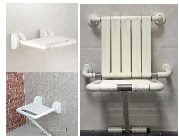 Di alta qualità bagno parete pieghevole doccia sedia doccia