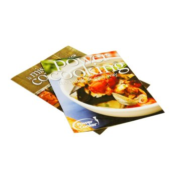 Pantone color full color print cook book with competitive price in China