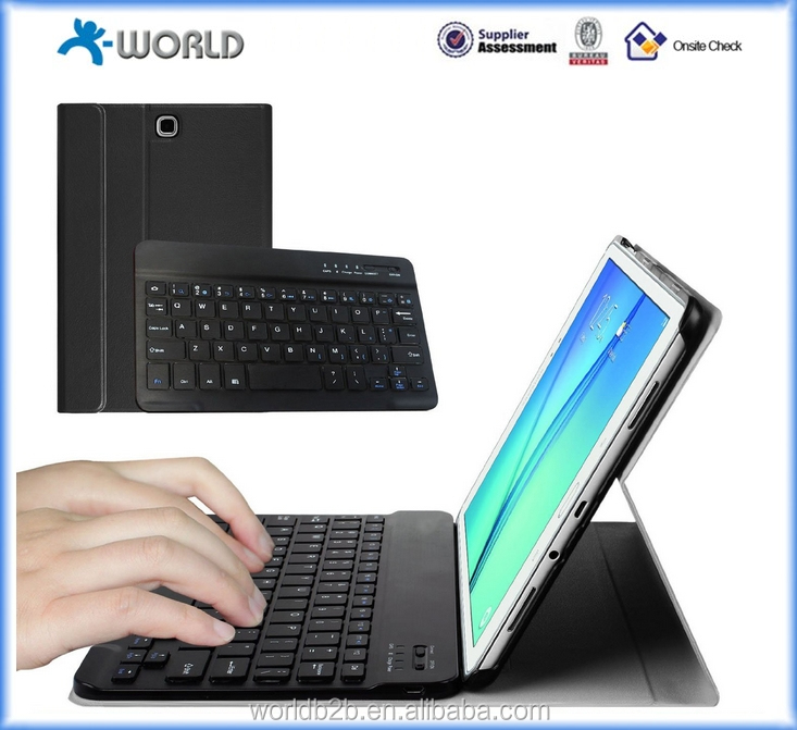 High quality Bluetooth Keyboard Cover For Galaxy Tab A 9.7 inch T550