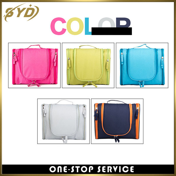 High quality foldable multi-function travel makeup bag large capacity Oxford cloth travel bag