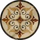 cheap marble mosaic floor medallion from china