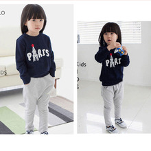 child clothes casual sweatshirt sets