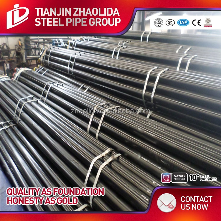 hs code schedule 40 astm a53 black / galvanized carbon seamless steel pipe tube standard length