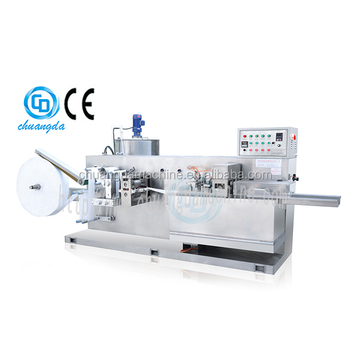 CD-200 automatic wet tissue making machine, baby wet wipe making machine