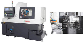 Precision Swiss-turn Gang type CNC Lathe