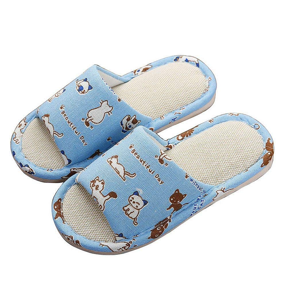 38d7a5dca315 Get Quotations · Maybolury Boys Girls Cute Home Slippers