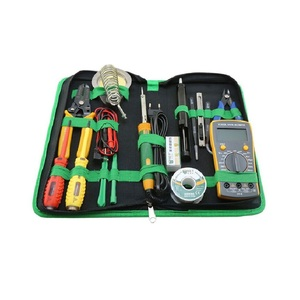 BST-113 Computer Repair Tool Bag 16pcs in 1 Match Freely Cellphone Laptop Household Appliance Repairing Tool Set Kit