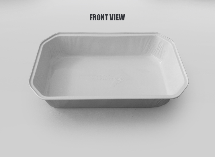 airline catering coated aluminium foil food container
