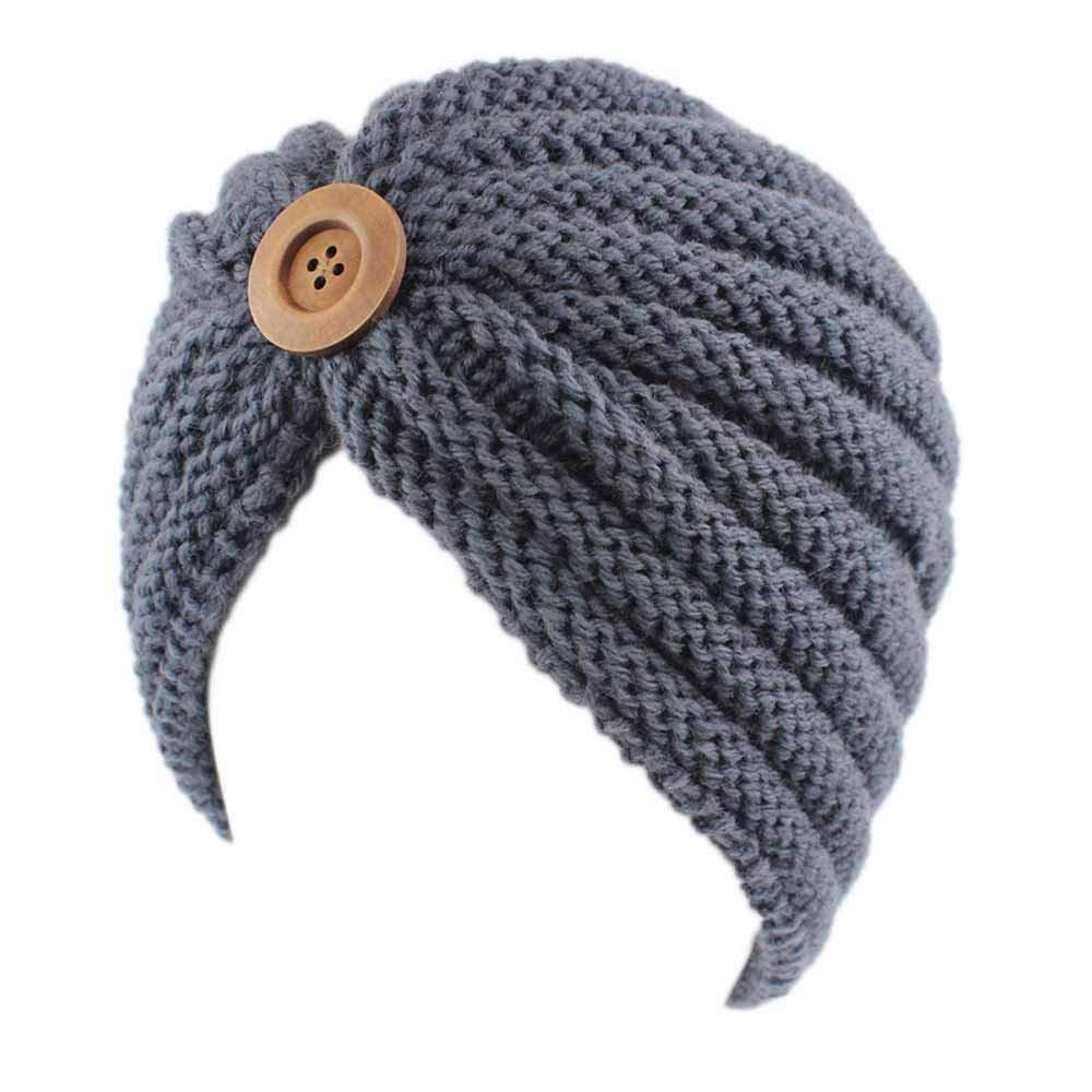 URIBAKE Women s Retro Winter Wool Knitting Hat Turban Brim Ladies  Hat Cap  ... 20010015e008