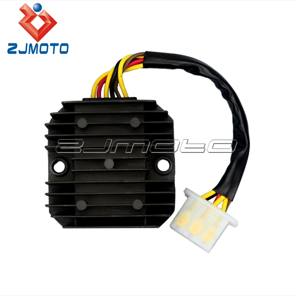 motorcycle parts 6 wires regulator rectifier for el250. Black Bedroom Furniture Sets. Home Design Ideas