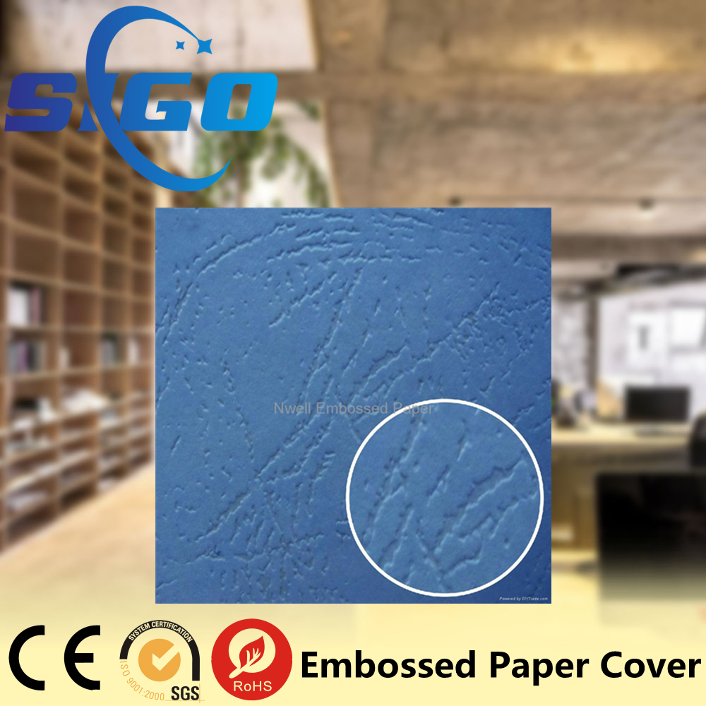 SIGO A4 230gsm leather grain paper binding cover embossed paper