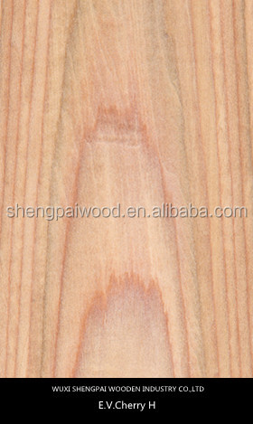 cheapcherry wood veneer for outdoor veneer decking,fllors, doors, home decoration