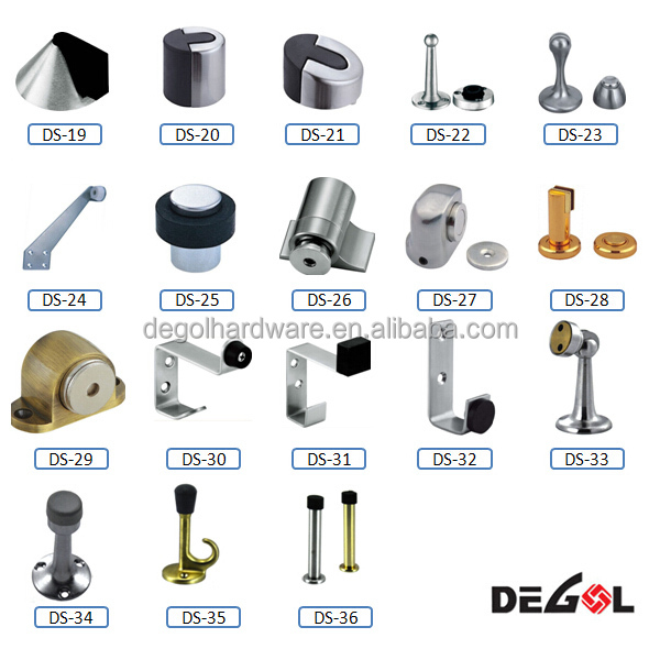 High Quality Precision Casting 90 Degree Rubber Door Stop