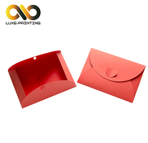 2019 Custom Printing Gold Stamp CNY Red Envelope Custom Red Packet