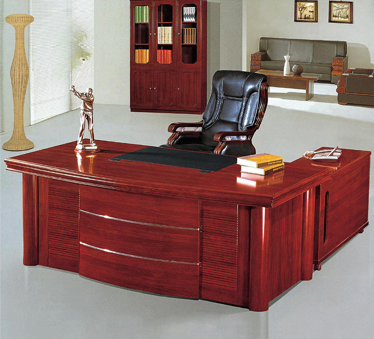 Executive Fancy P Shape Office Desk