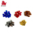 Multicolor design that makes math fun and enjoyable Metal color plastic cubes for board game for Home Decoration