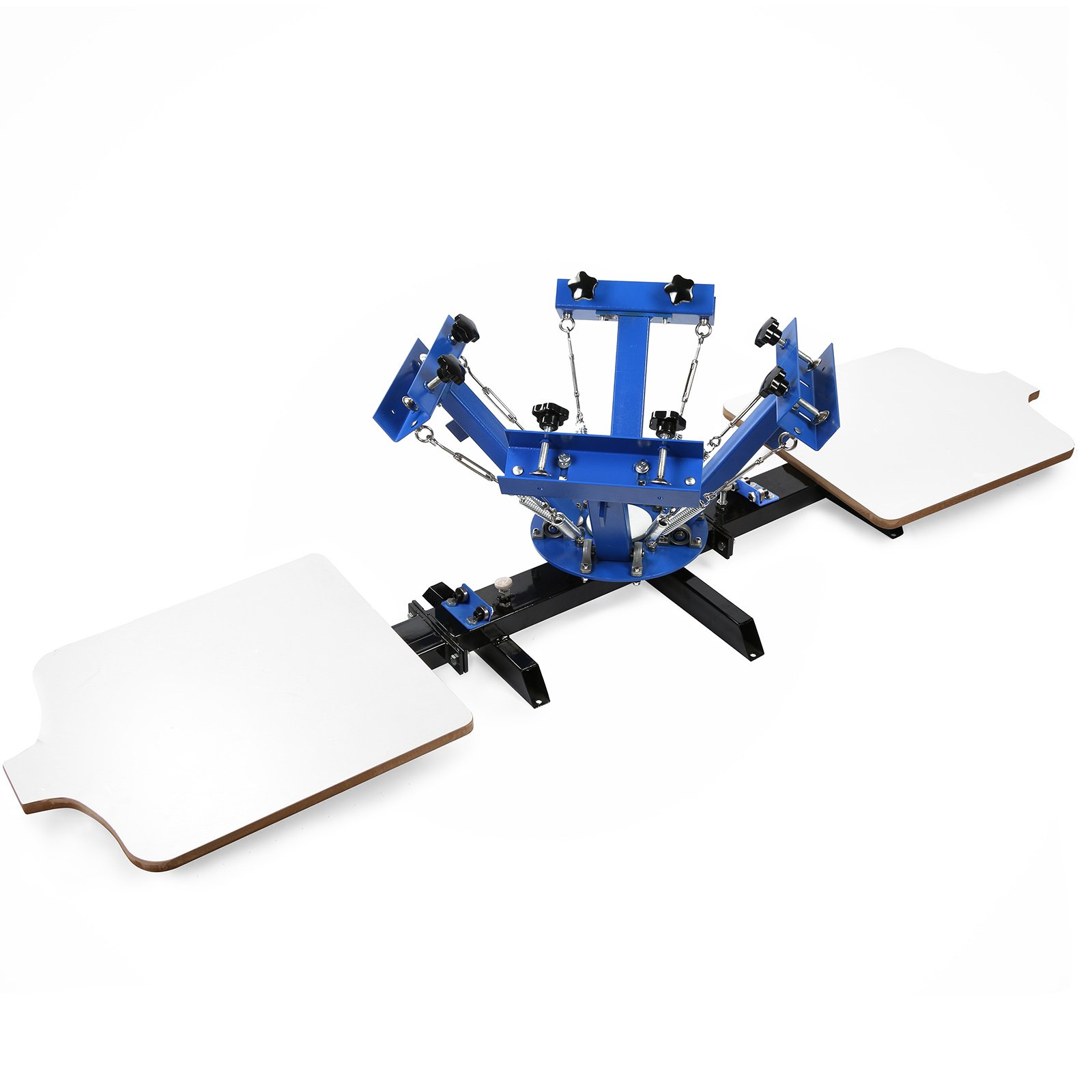 933cff81 Get Quotations · Maxwolf Screen Printing Machine Silk Screen Printing  Machine Screen Printing Press 4 Color 2 Station Double