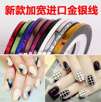2mm 3mm Widen Out Nail Art Stripping Tapebroaden Nail Art Stripping