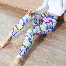 hot sale Custom multicolor Breathable Sexy girls wearing yoga pants for women