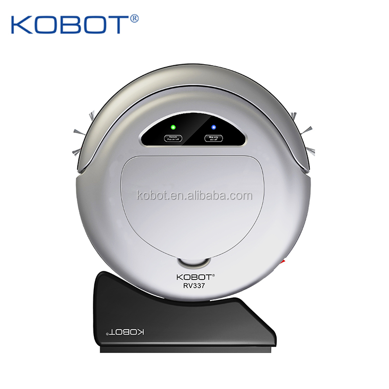 KOBOT 2016 New Arrival Robotic Vacuum Cleaner with auto-charging RV337