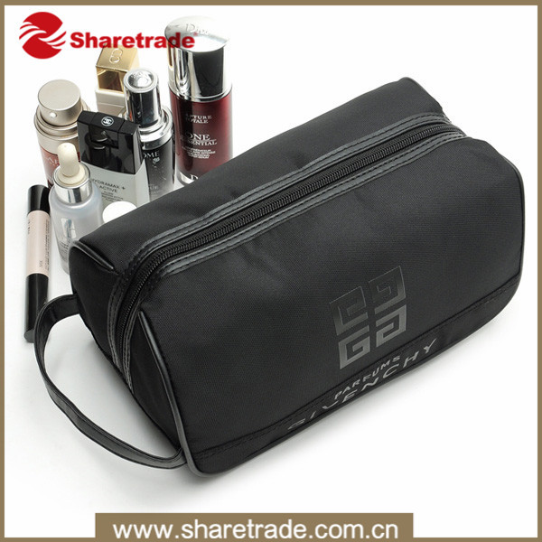 Black Luxury Travel Cosmetic Bag For Men