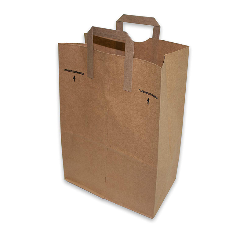 Small Kraft Paper Bags With Handles Bulk Whole