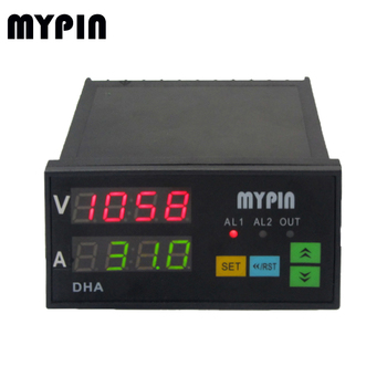 MYPIN digital current amp ammeter panel DK8 volt ampere meter