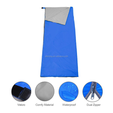 Wholesale single Polyester Pongee Healthy Sleeping Bag Liner Portable Camping Travel Sleeping Bag