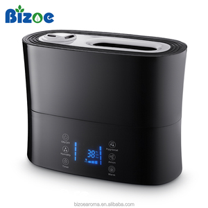 Home appliance mist maker for ultrasonic humidifier with remote cold and warm mist