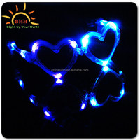 Party favor funky sunglasses led flashing sunglasses with joy and fun