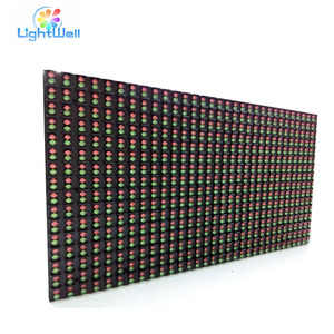 led scrolling message sign board p10 outdoor led module dual color RB 320*160