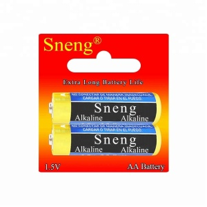 Sneng AA Alkaline 2PCS/Pack Dry Battery 1.5V LR6 R6P AM3 AM-3 E91 LR06 High Power free Mercury Lead Cadmium Eco-friendly