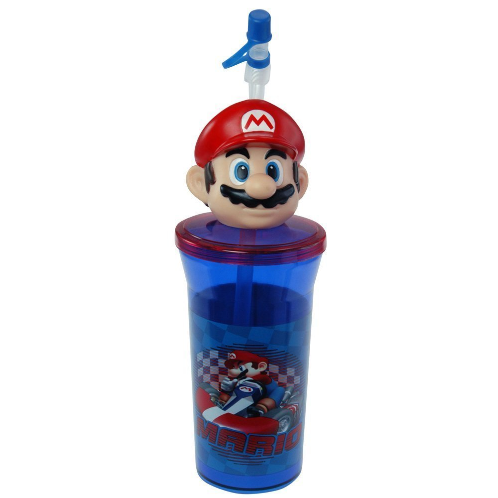 New Super Mario Bottle Tumbler Toys Perfect for Birthday Party Favor Goodie bags - WONDERS SHOP USA