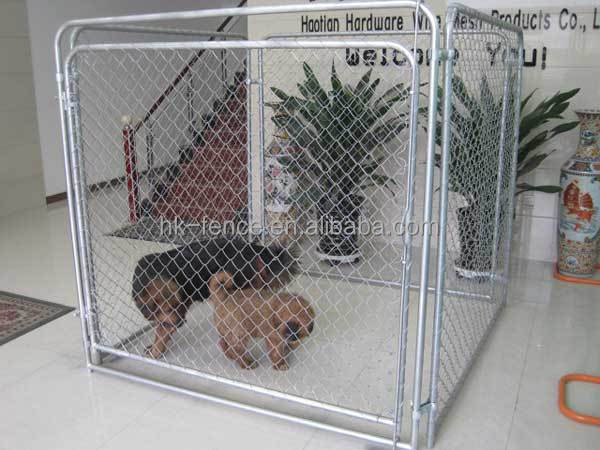 Pvc Coated Chain Link Fence Gate Outdoor Dog Cage Buy