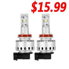 Mini-LED-Birne M2 55W 12000LM CR-Chip H7 H4 H9 P13 PSX24 PSX26 5202 H13 LED-Scheinwerferlampe