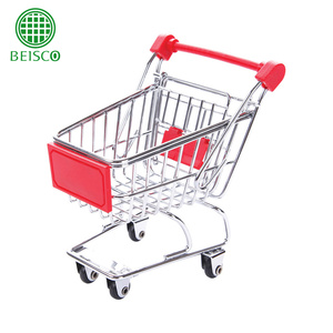 Trade assurance hot selling fashionable mini toy shopping trolley,mini supermarket shopping toy trolley
