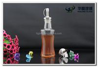 150ml 5oz small vinegar vegetable bottle empty sauce bottles with pourer cap