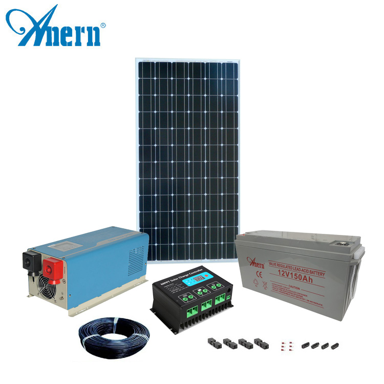 Home Use Easy Install Diy Solar Panel Kits 1 Kw Solar Panel - Buy Home  Solar Panel Kit,Home Solar Panel Kit,Home Solar Panel Kit Product on